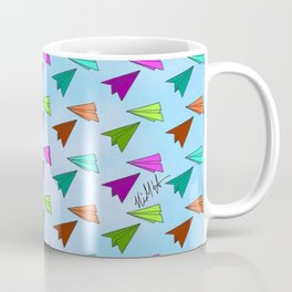 Paper Fliers Coffee Mug