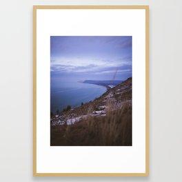 Empire Bluff Sunset | Sleeping Bear Dunes, Michigan | John Hill Photography Framed Art Print