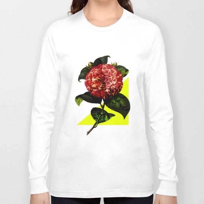 Vintage Bloom /Neon Wedge Long Sleeve T-shirt