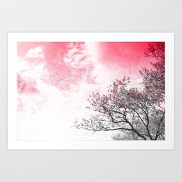 Lookup: Tree Art Print