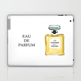 Yellow Parfum Laptop & iPad Skin