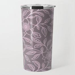 Ballet Slipper Lace Floral Travel Mug