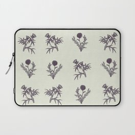The thistle flowers Laptop Sleeve