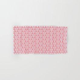 Pink Stitches Hand & Bath Towel