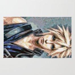 Cloud Strife Final Fantasy 7 Rug