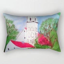 Kirche von Ergolding Rectangular Pillow
