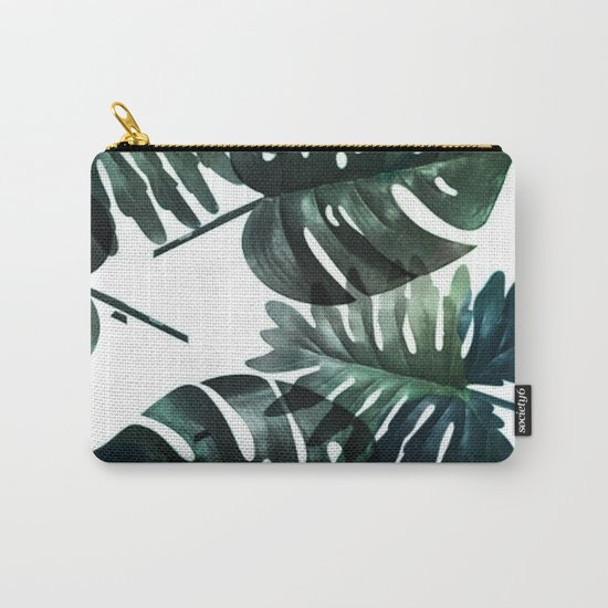 Leafs . Minimal Carry-All Pouch