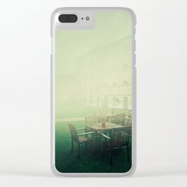 oxford castle silence Clear iPhone Case