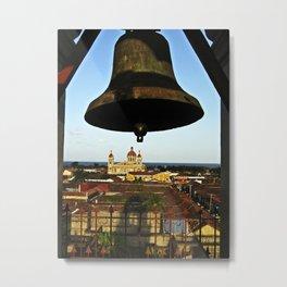 Bell Tower View, Granada, Nicaragua Metal Print