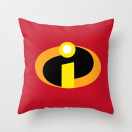 Incredibles Throw Pillow