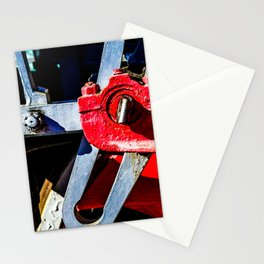 Vintage Steam Engine Lovomotive Gear Stationery Cards