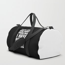Math Problems Funny Quote Duffle Bag