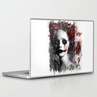 harley Laptop & iPad Skins featuring Harley Quinn by ururuty