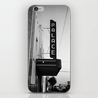 theater iPhone & iPod Skins featuring Palace Theater by Teran Jones