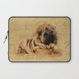 Shar-Pei puppy Laptop Sleeve