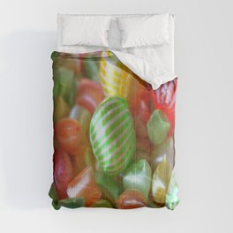 Multi-Colored Striped Candy Comforters