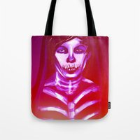 louis ck Tote Bags featuring Louis by nasalouis