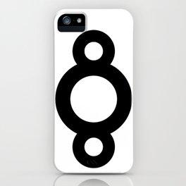 8 (circle) iPhone Case