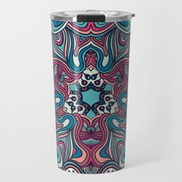 psychedelic ornament Travel Mug