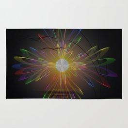 Light and energy - sunset Rug