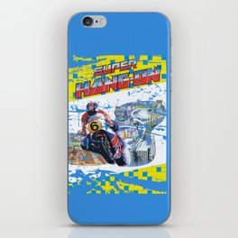 Super Hang-On iPhone Skin