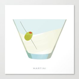 Cocktail Hour: Martini Canvas Print