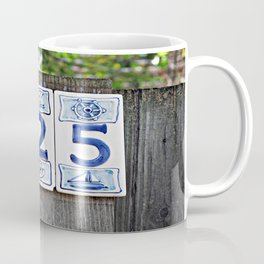 Nautical Numbers Coffee Mug