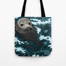 Grey Seal Tote Bag