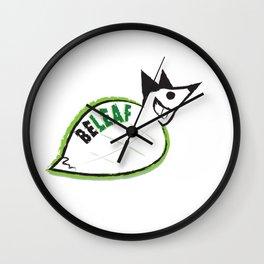 Beleaf Fox Wall Clock