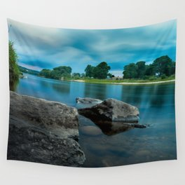 River Landscape Photography - The Banks of the Tay, Scotland Wall Tapestry