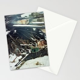 refuse (winter 14) Stationery Cards
