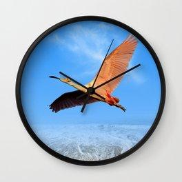 Morning Flight Wall Clock