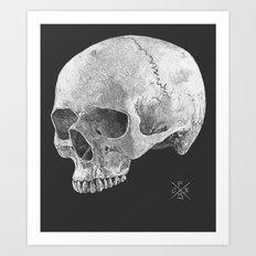 Scratcher Art Print