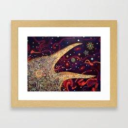 Raven Croak Framed Art Print