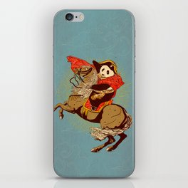 The Panda's Ride  iPhone Skin