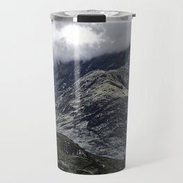 Glencoe in Scottish Highlands. Travel Mug