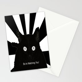 Bo Is Watching You! Stationery Cards