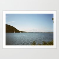 summer in maine Art Print