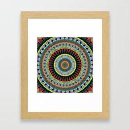 exotic Mandala Framed Art Print