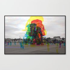 Sequential Serie : The Symbol Canvas Print