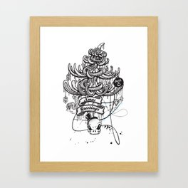 Xmas Greeting Framed Art Print