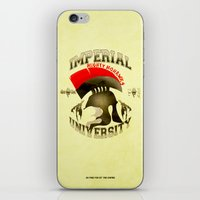 skyrim iPhone & iPod Skins featuring Imperial University(Skyrim) by Chubbybuddhist