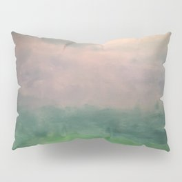 Valley of Dreams - Abstract nature Pillow Sham