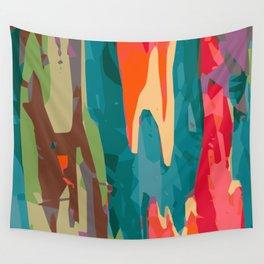 Rainbow Eucalyptus Wall Tapestry