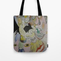 farm Tote Bags featuring farm by Dan Feit