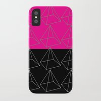 pyramid iPhone & iPod Cases featuring Pyramid by Georgiana Paraschiv