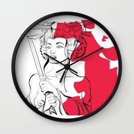 G E I S H A  G I R L Wall Clock