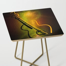 Guitar M-o-L Side Table