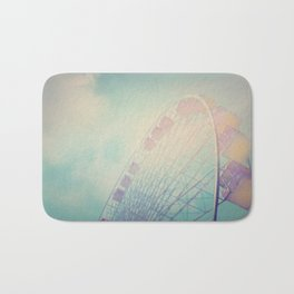 Into the Sky Ferris Wheel Bath Mat