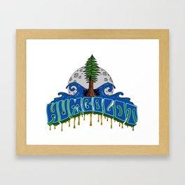 Essence of Humboldt Framed Art Print